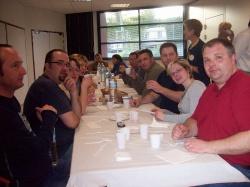 repas entre musiciens Breton Polonais 3